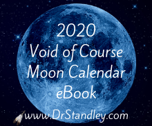 2020 Void of Course Moon Calendar
