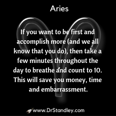 All about Aries on DrStandley.com