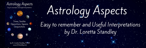 Astrology Aspects e-Book by Dr. Loretta Standley