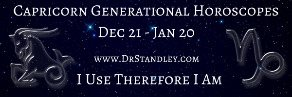 Capricorn Generational Horoscopes on DrStandley.com.  The most accurate horoscopes on the web!