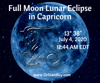 Full Moon Lunar Eclipse in Capricorn 2020 on DrStandley.com