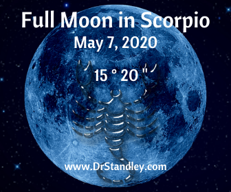 Full Moon in Scorpio on DrStandley.com
