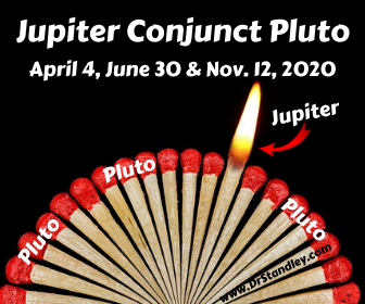 Jupiter conjunct Pluto on DrStandley.com