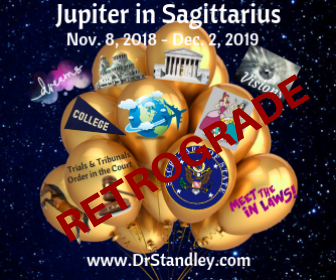 Jupiter in Sagittarius Retrograde on DrStandley.com