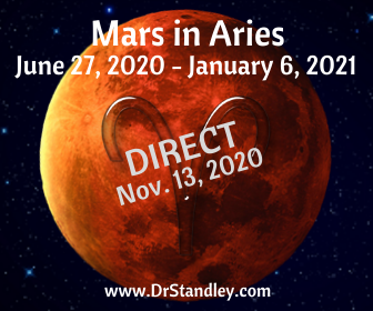Mars in Aries on Dr.Standley.com