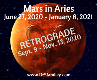 Mars in Aries Retrograde 2020 on DrStandley.com