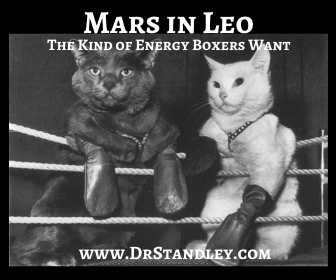 Mars in Leo has the kind of energy that boxer's want