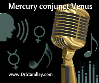 Mercury conjunct Venus on DrStandley.com