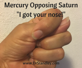 Mercury Opposing Saturn on DrStandley.com