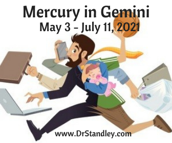 Mercury in Gemini on DrStandley.com