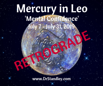 Mercury in Cancer Retrograde from July 7 until July 31, 2019 DrStandley.com