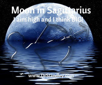 Moon in Sagittarius on DrStandley.com