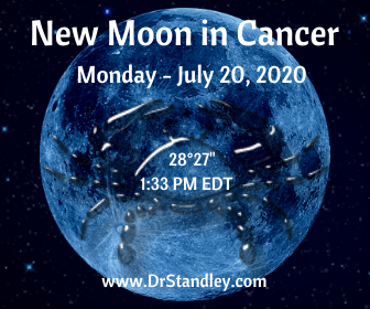New Moon in Cancer 2020 on DrStandley.com