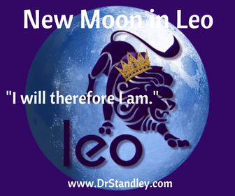 New Moon in Leo on Wednesday, July 31, 2019 on DrStandley.com