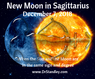New Moon in Sagittarius on DrStandley.com