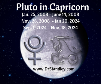 Pluto in Capricorn on DrStandley.com
