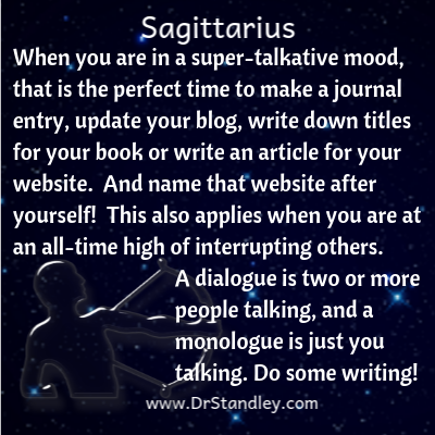 All about Sagittarius on DrStandley.com
