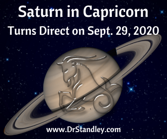 Saturn in Capricorn Direct on DrStandley.com