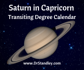Saturn in Capricorn - December 19, 2017 until March 21, 2020 and<br> July 1, 2020 until December 17, 2020 on DrStandley.com