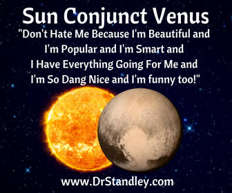 Sun Conjunct Venus on DrStandley.com