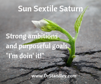 Sun sextile Saturn on DrStandley.com
