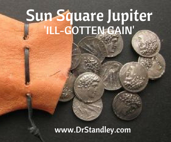 Sun square Jupiter on DrStandley.com
