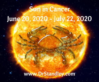 Sun enters Cancer at 5:44 PM EDT on DrStandley.com