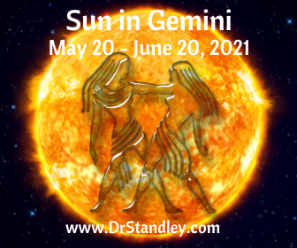 Sun in Gemini 2021 on DrStandley.com