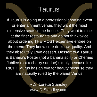 All about Taurus on DrStandley.com