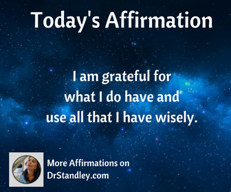 More affirmations on DrStandley.com