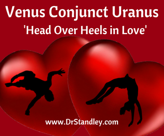 Venus conjunct Uranus is head over heels in Love and will do something crazy for Love, like run off and get married (elope)