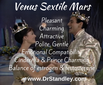 Venus Sextile Mars on DrStandley.com