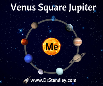 Venus square Jupiter on DrStandley.com