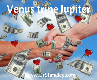 Venus trine Jupiter on DrStandley.com