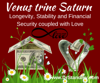 Venus Trine Saturn on DrStandley.com