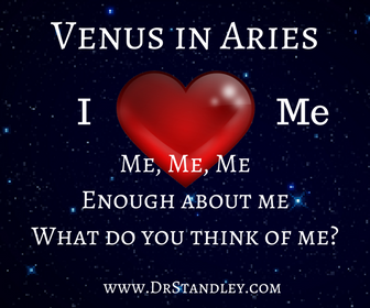 Venus in Aries on DrStandley.com