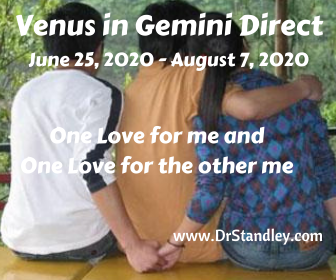 Venus in Gemini Direct on DrStandley.com