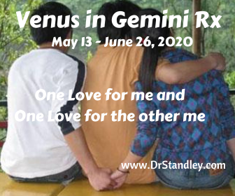 Venus in Gemini Retrograde (Rx) on DrStandley.com