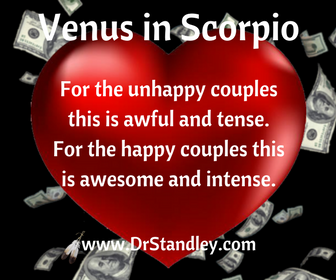 Venus in Scorpio on DrStandley.com