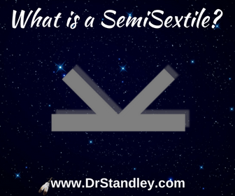 What is a SemiSextile aspect in astrology?