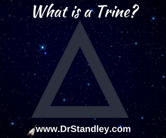 What is a trine aspect in astrology?